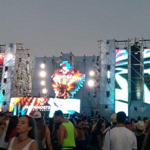 escenarios festivales